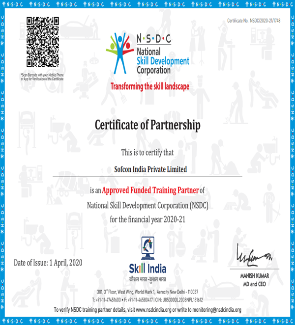 Sofocn-Nsdc-Certification-