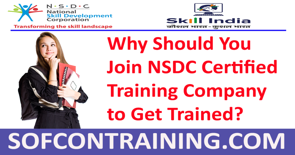 NSDC Approved Training Company